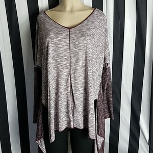 Hard Tail Forever Gray Lounge Top Size M